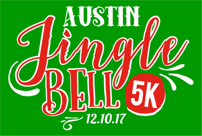 2017 Austin Jingle Bell 5k Logo